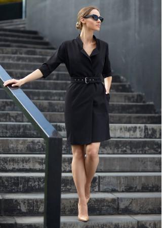 Kleita melna S120-black Style Kleitas Greetha