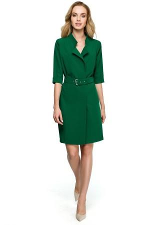 Kleita zaļa S120-green Style Kleitas Greetha
