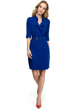 Kleita zila S120-royal blue Style Kleitas Greetha