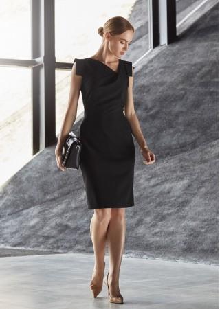 Kleita melna S121-black Style Kleitas Greetha