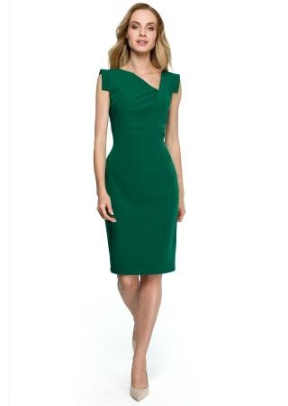 Kleita zaļa S121-green Style Kleitas Greetha