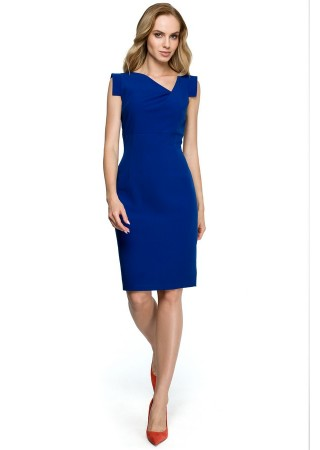 Kleita zila S121-royal blue Style Kleitas Greetha