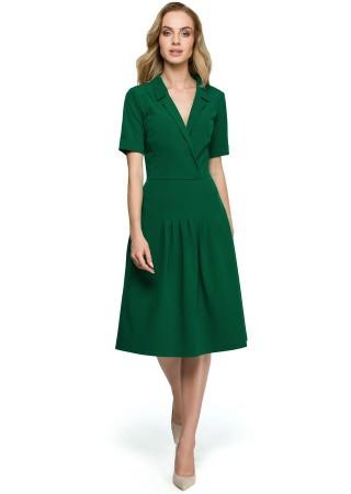 Kleita zaļa S122-green Style Kleitas Greetha