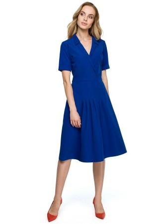 Kleita zila S122-royal blue Style Kleitas Greetha